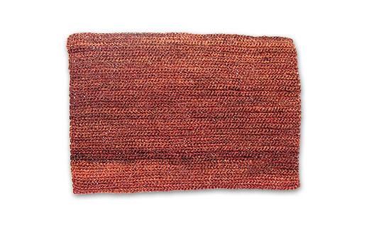 mantel individual crochet